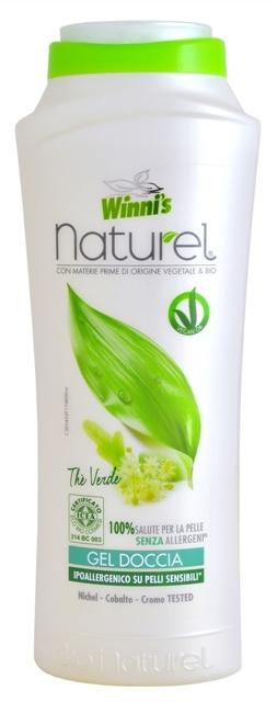 NATUREL Gel Doccia The Verde sprchový gel se zeleným čajem 250 ml