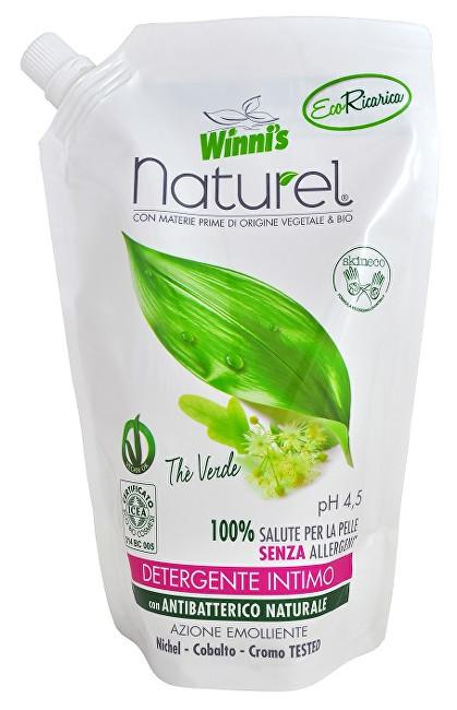 NATUREL Sapone Intimo Ecoricaria The Verde tekuté mýdlo pro intimní hygienu se zeleným čajem - náhradní náplň 500 ml