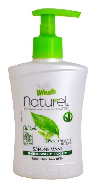 NATUREL Sapone Mani The Verde tekuté mýdlo se zeleným čajem 250 ml