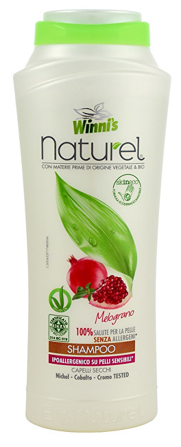 NATUREL Shampoo Melograno šampon s granátovým jablkem na suché vlasy 250 ml