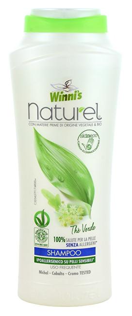 NATUREL Shampoo The Verde šampon se zeleným čajem pro všechny druhy vlasů 250 ml