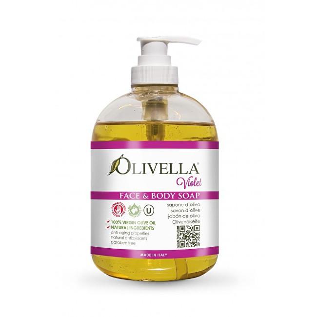 Olivella Tekuté mýdlo s vůní fialek 500 ml