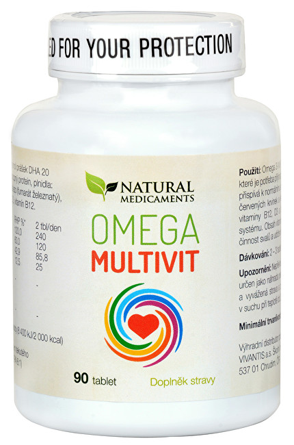 Omega Multivit 90 tablet