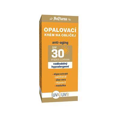 Zobrazit detail výrobku MedPharma Opalovací krém na obličej SPF 30 50 ml