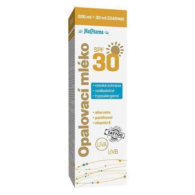 Zobrazit detail výrobku MedPharma Opalovací mléko SPF 30 230 ml