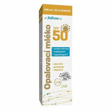 Zobrazit detail výrobku MedPharma Opalovací mléko SPF 50 230 ml