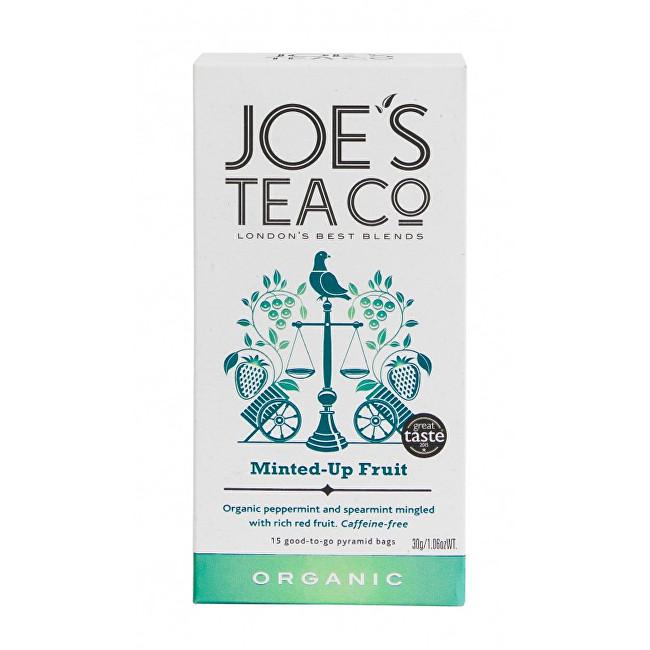 Zobrazit detail výrobku Joe´s Tea Co. Ovocný čaj s mátou BIO 15 pyramidek