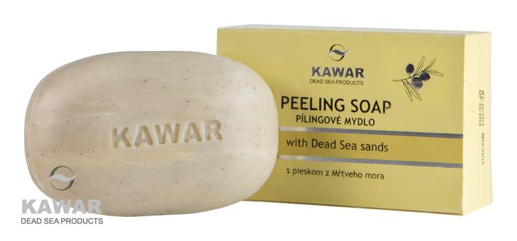 Peelingové mýdlo s pískem z Mrtvého moře 120 g
