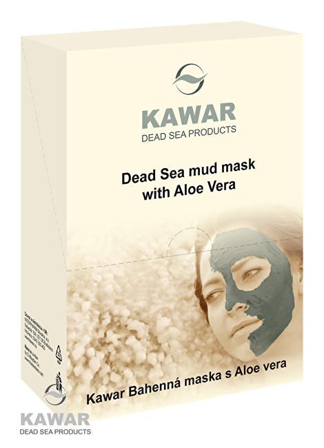 Pleťová maska s aloe vera a minerály z Mrtvého moře 4 x 75 g sáčků v krabičce