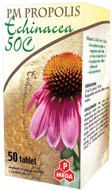 Zobrazit detail výrobku Purus Meda PM Propolis Echinacea 50 tablet