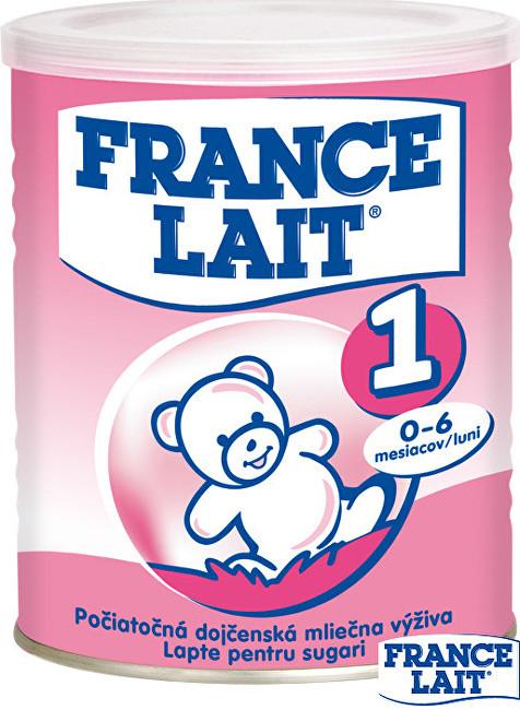 Zobrazit detail výrobku France Lait Počáteční mléčná kojenecká výživa 0 - 6 měsíců 400 g