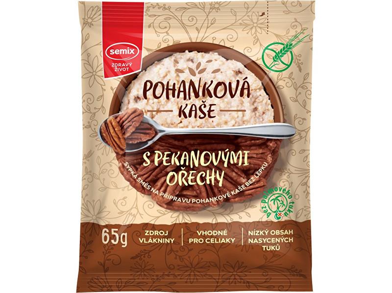 Zobrazit detail výrobku Semix Pohanková kaše s pekanovými ořechy 65g