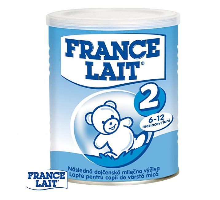 Zobrazit detail výrobku France Lait Pokračovací mléčná kojenecká výživa 6 - 12 měsíců 400 g