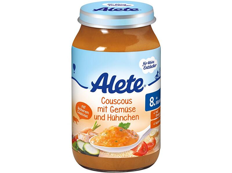 Zobrazit detail výrobku Alete Příkrm - Kuskus se zeleninou a kuřecím masem 220g
