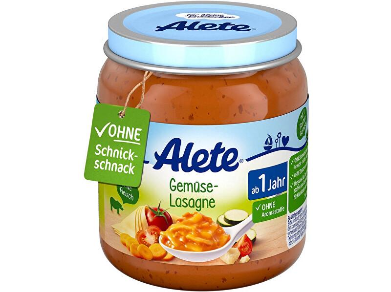 Zobrazit detail výrobku Alete Příkrm - Zeleninové lasagne 250g