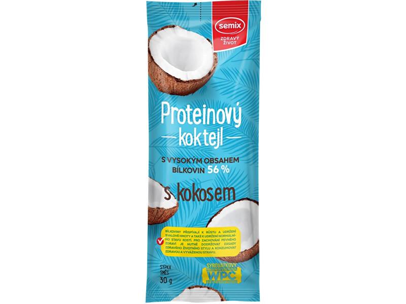 Zobrazit detail výrobku Semix Proteinový koktejl s kokosem 30g