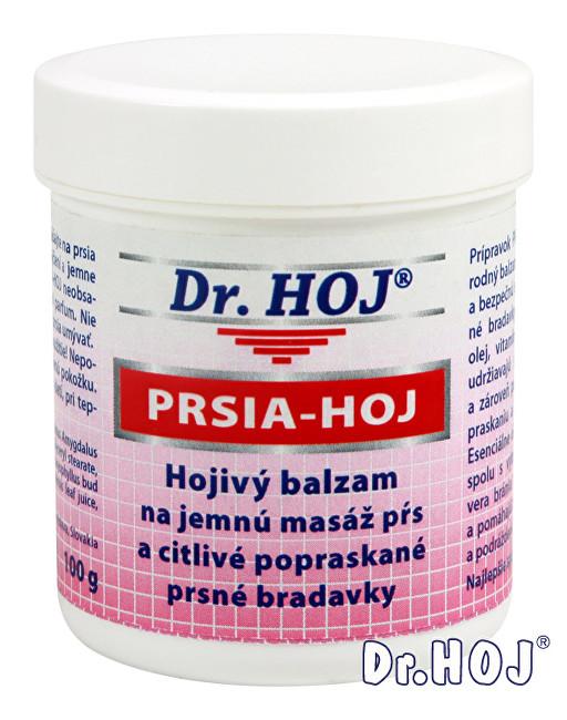 Dr. Hoj PRSA-HOJ Hojivý balzám na jemnou masáž prsou a citlivé popraskané prsní bradavky 100g
