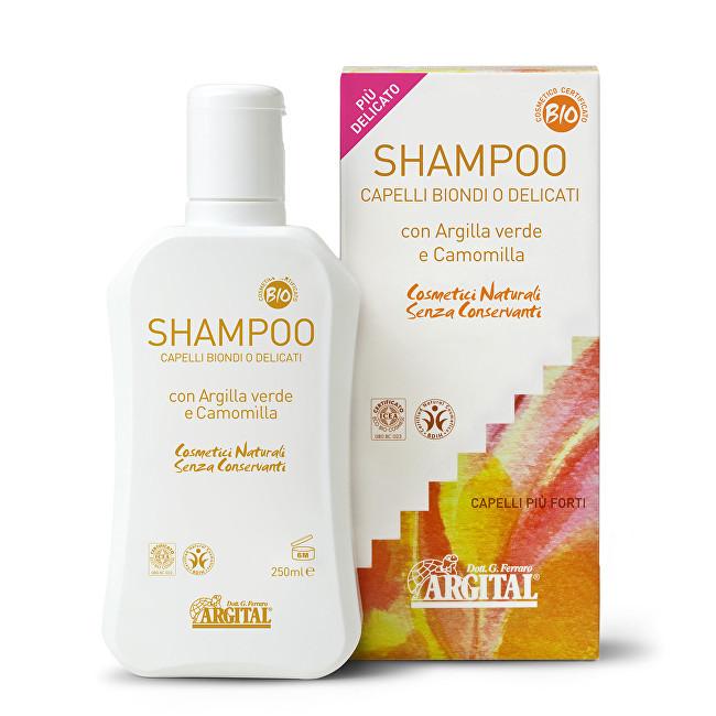 Zobrazit detail výrobku Argital Rozjasňující šampon na blond a jemné vlasy s heřmánkem 250 ml