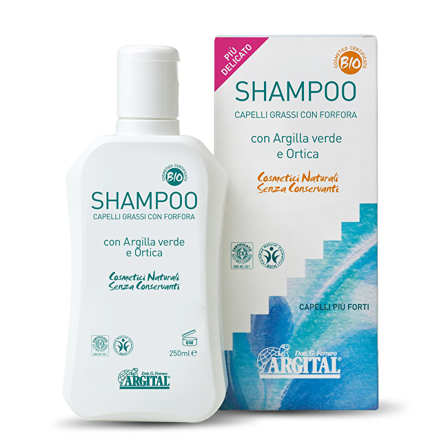 Šampon na mastné vlasy a proti lupům s kopřivou 250 ml