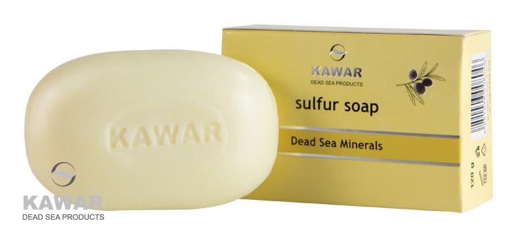 Sírové mýdlo s minerály z Mrtvého moře 120 g
