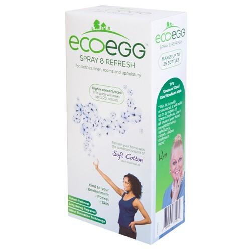 Zobrazit detail výrobku Ecoegg Spray & Refresh osvěžovač vzduchu s vůní svěží bavlny 125 ml