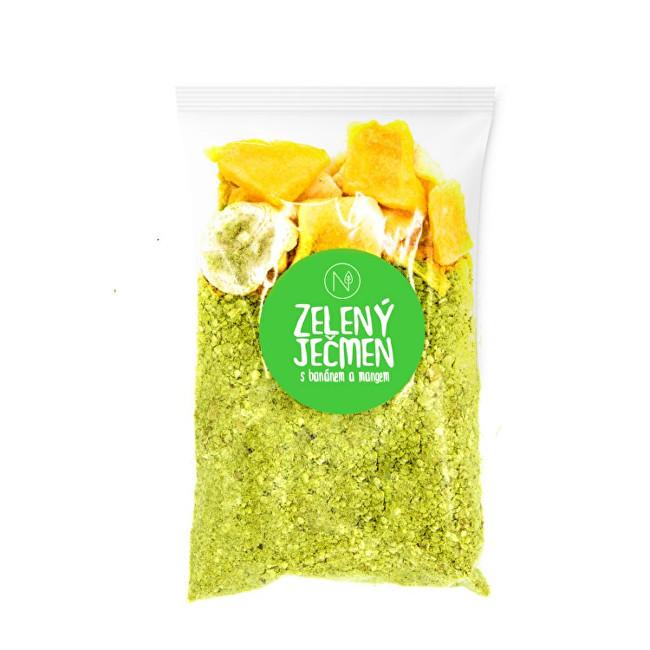 Zobrazit detail výrobku Natu Superkaše Zelený ječmen s mangem a banánem 70 g
