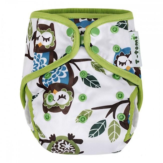 Zobrazit detail výrobku T-tomi Svrchní kalhotky (4 - 15 kg) White owl / bílé sovy