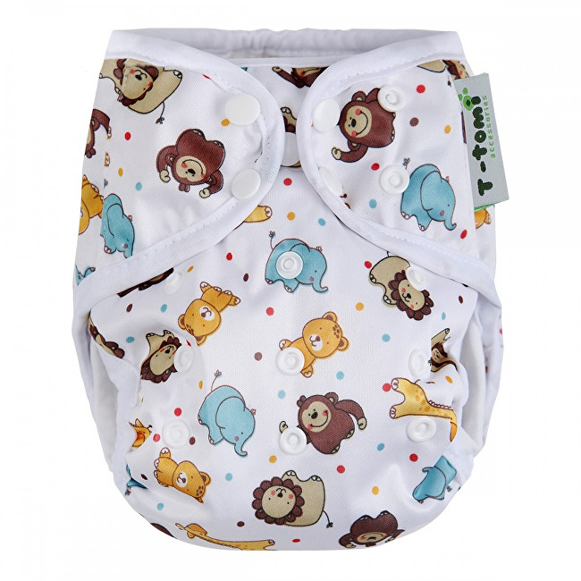 Zobrazit detail výrobku T-tomi Svrchní kalhotky (4 - 15 kg) White ZOO / bílá ZOO