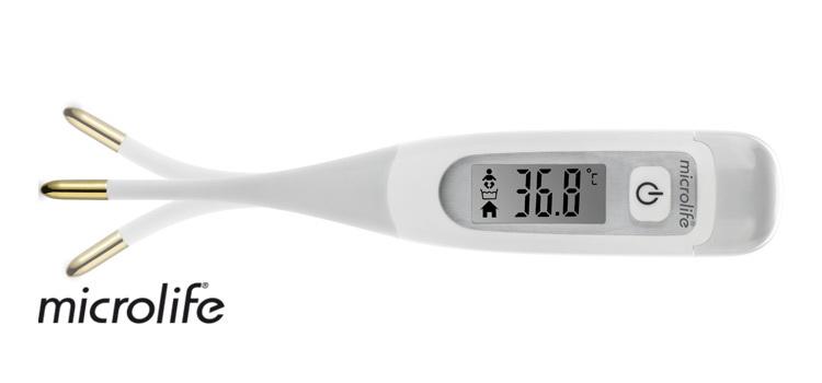 Microlife Teplomer MT 850 digitálny 8 sekundový 3v1