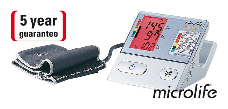 Microlife Tlakoměr BP A100 Plus digitální automatický