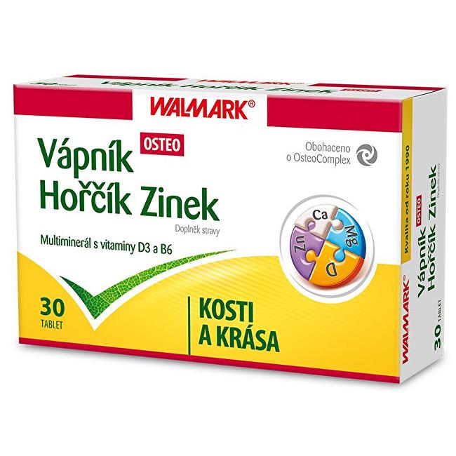 Walmark Vápník Hořčík Zinek OSTEO 30 tbl.
