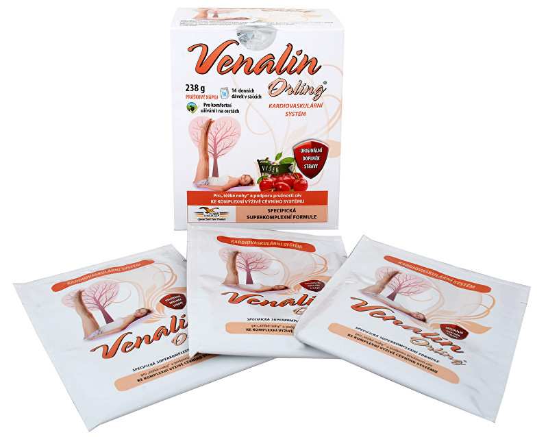 Zobrazit detail výrobku Orling Venalin 14 sáčků příchuť višeň