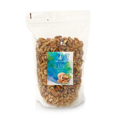 Zobrazit detail výrobku Allnature Vlašské ořechy 500 g