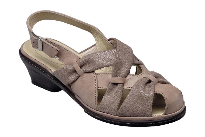 SANTÉ Zdravotná obuv dámska SK / 1509 Sand vel. 39