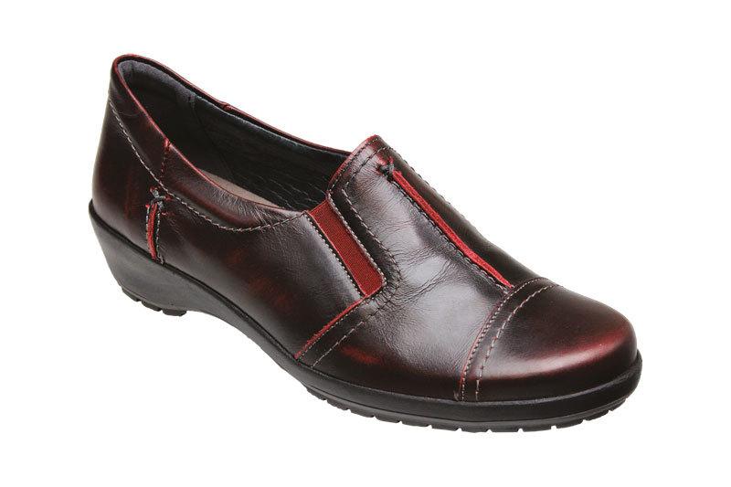 SANTÉ Zdravotná obuv dámska SK / 7113 Bordo vel. 42