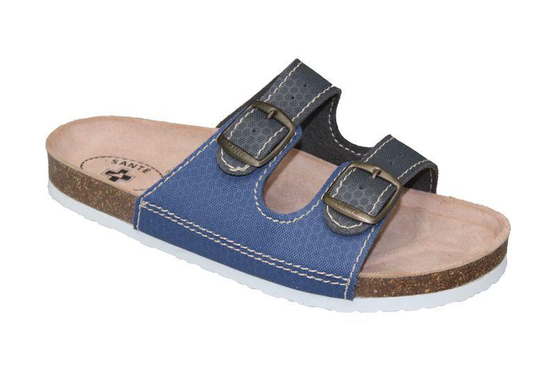 SANTÉ Zdravotní obuv dámská D/21T/910/925/BP šedo-modrá 35