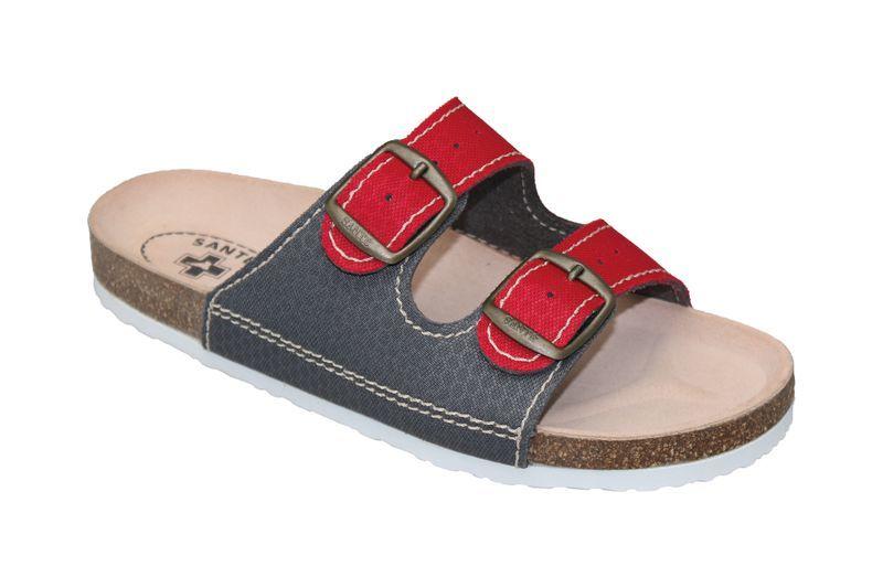 SANTÉ Zdravotní obuv dámská D/21T/911/910/BP červeno-šedá 35