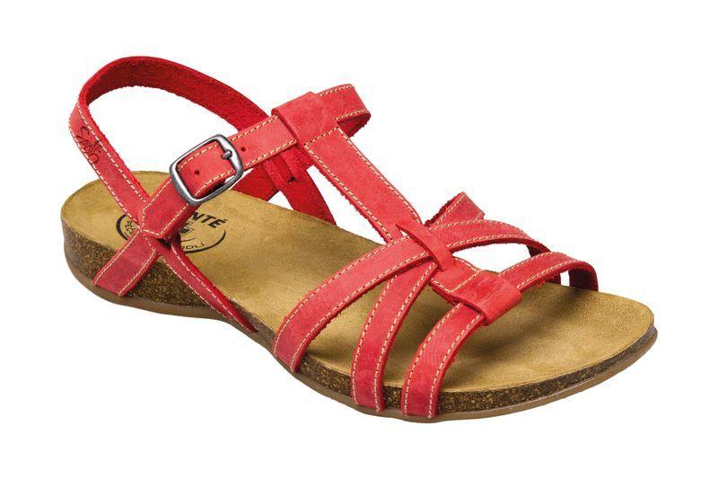 SANTÉ Zdravotní obuv dámská IB 4408 červená vel. 41 2653574182
