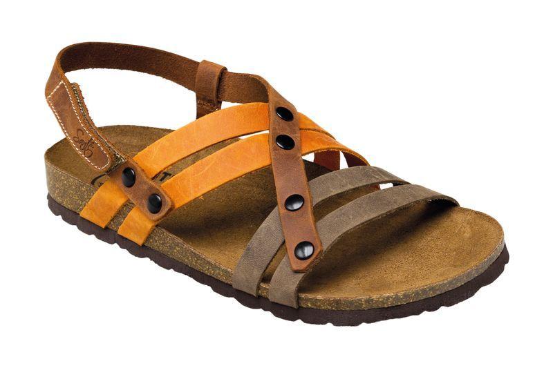 Zobrazit detail výrobku SANTÉ Zdravotní obuv dámská IB/7200 hnědo-oranžová vel. 35