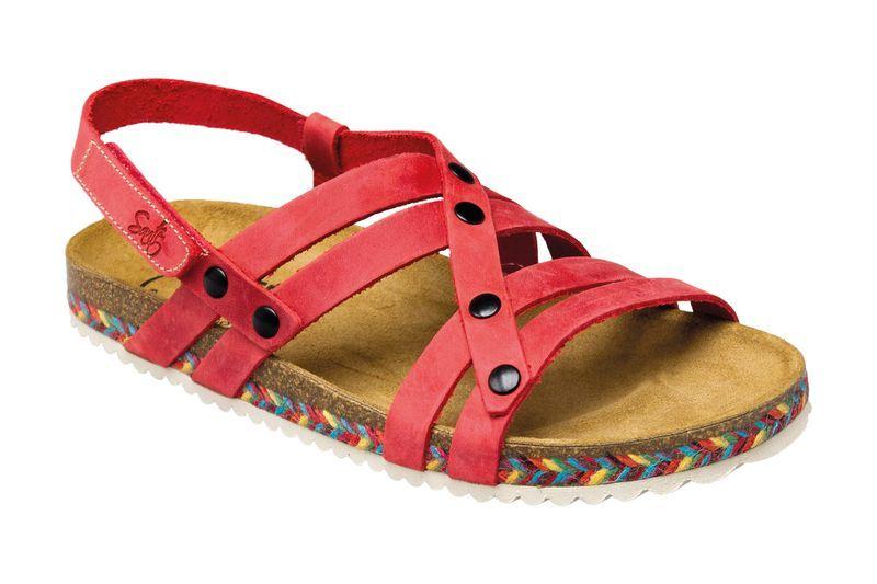 Zobrazit detail výrobku SANTÉ Zdravotní obuv dámská IB/7200C červená vel. 41