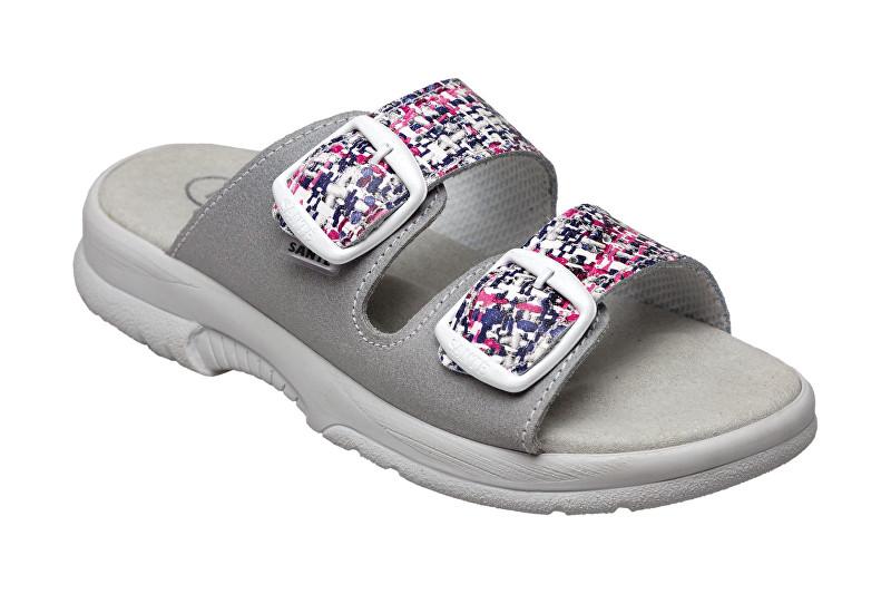 Zobrazit detail výrobku SANTÉ Zdravotní obuv dámská N/517/33/10M/19/BP grafiti-šedá 35