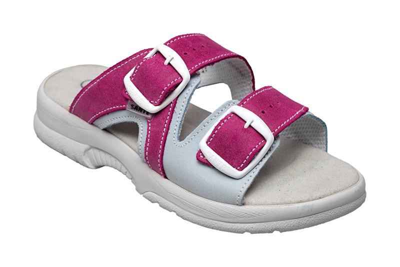 Zobrazit detail výrobku SANTÉ Zdravotní obuv dámská N/517/55/079/016/BP růžovo-šedá 35