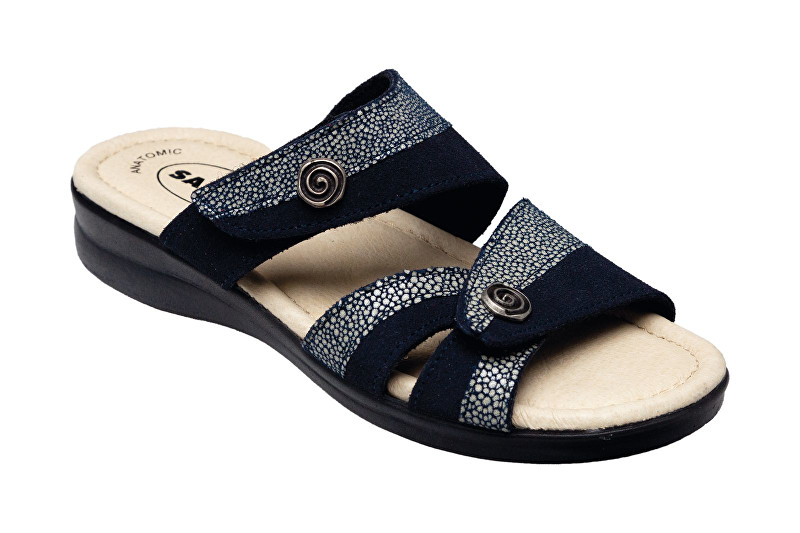 SANTÉ Zdravotná obuv dámska PO / 8017.58 Blu vel. 39