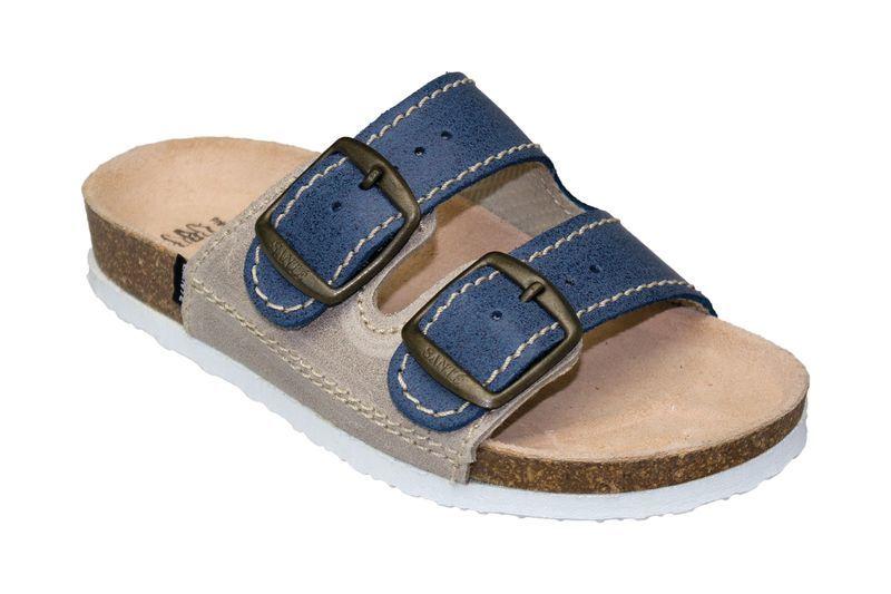 SANTÉ Zdravotní obuv dětská D/202/86/S12/BP modrá (vel. 27-30) 27