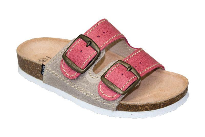 SANTÉ Zdravotní obuv dětská D/202/C30/S12/BP červená (vel. 27-30) 27