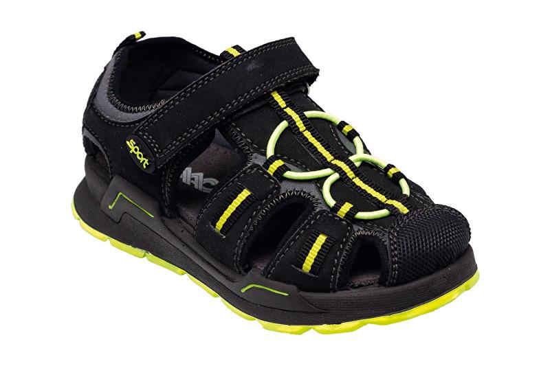 SANTÉ Zdravotná obuv detská IC / 132750 Nero 36