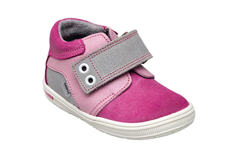 Zobrazit detail výrobku SANTÉ Zdravotní obuv dětská N/661/502/079/056/019 růžovo-šedá (vel. 27-30) 30