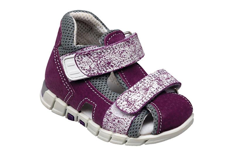 Zobrazit detail výrobku SANTÉ Zdravotní obuv dětská N/810/402/S75/A75 fialová (vel. 27-30) vel. 28
