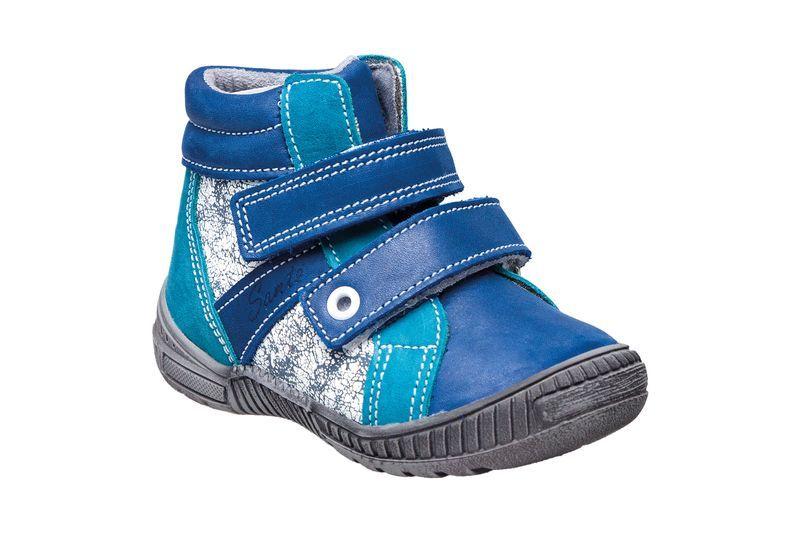 Zobrazit detail výrobku SANTÉ Zdravotní obuv dětská N/LONDON/203/C84/C87 modrá (vel. 27-30) 29