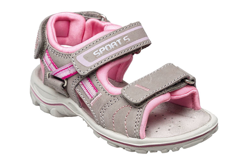 SANTÉ Zdravotní obuv dětská OR/25302 šedo-růžová vel. 26